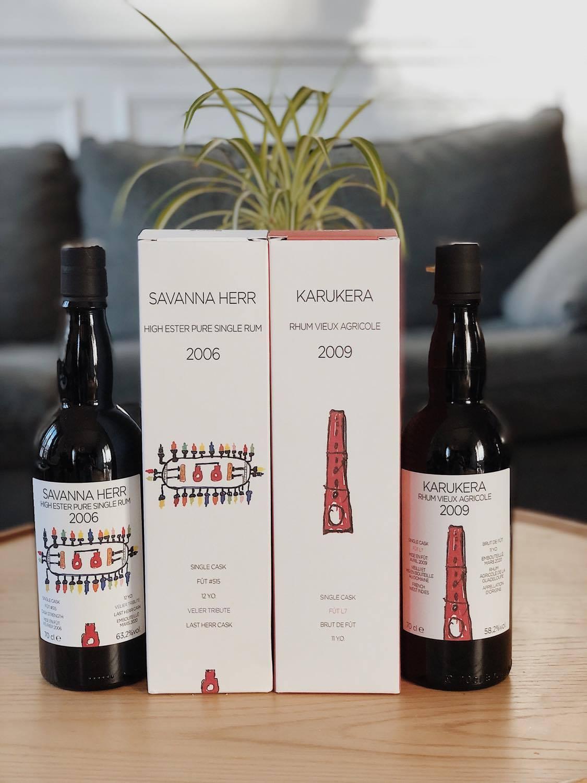 Karukera 2009 et Savanna  2006, série Japoniani