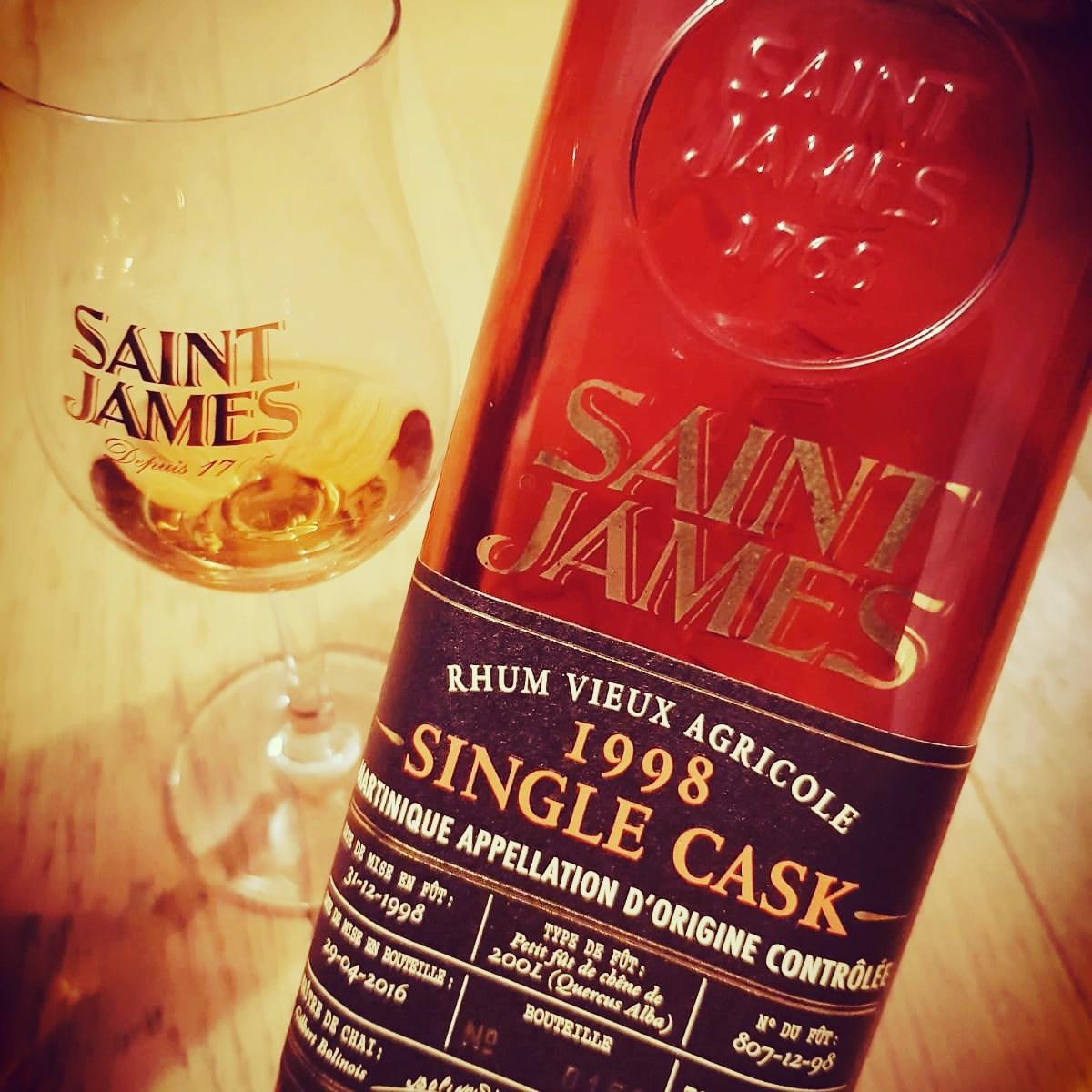 Dégustation Saint James, partie 1 : 1998