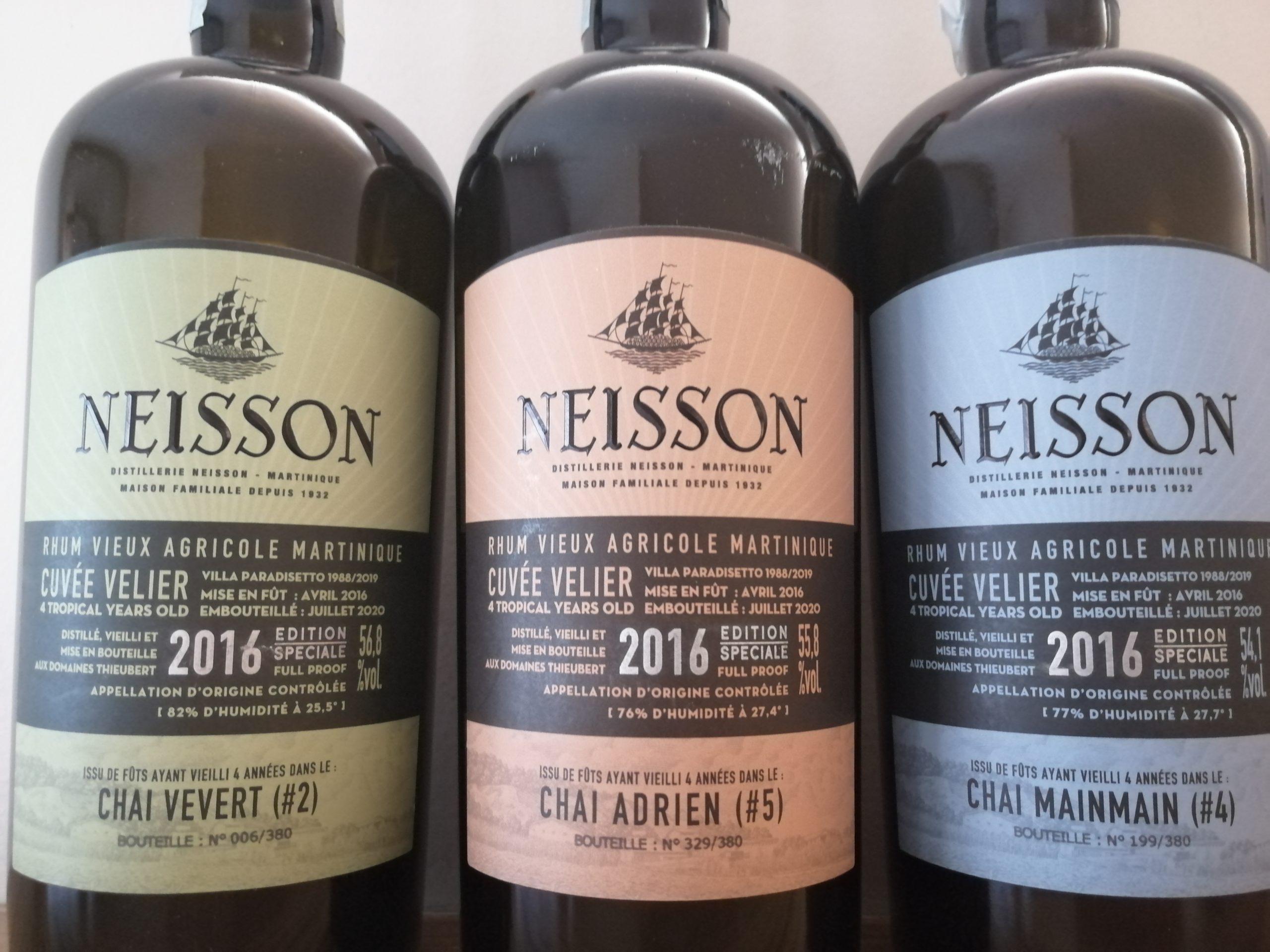 Neisson 2016 : les trois chais