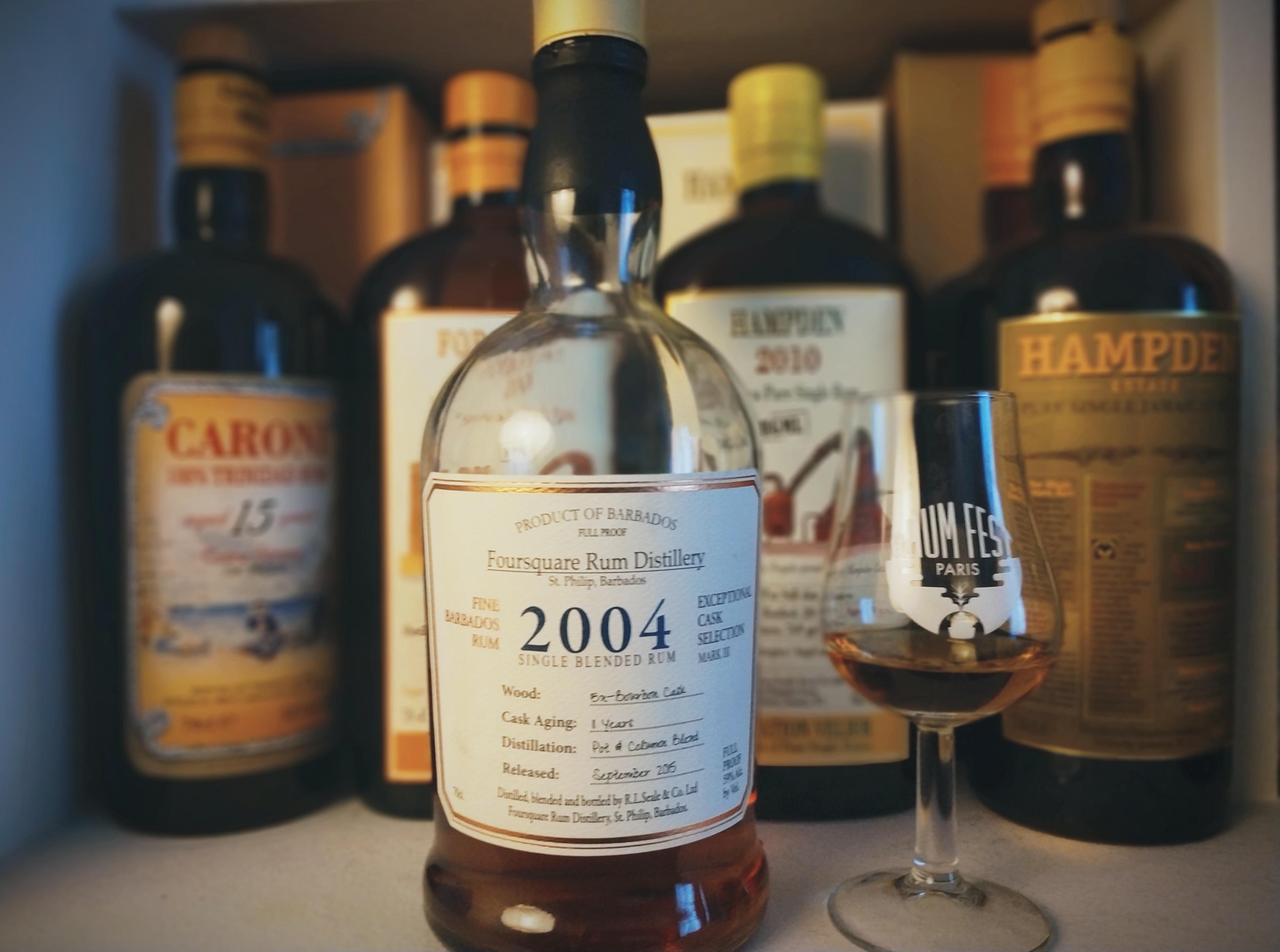 Foursquare 2004. Un grand classique d'une grande distillerie.