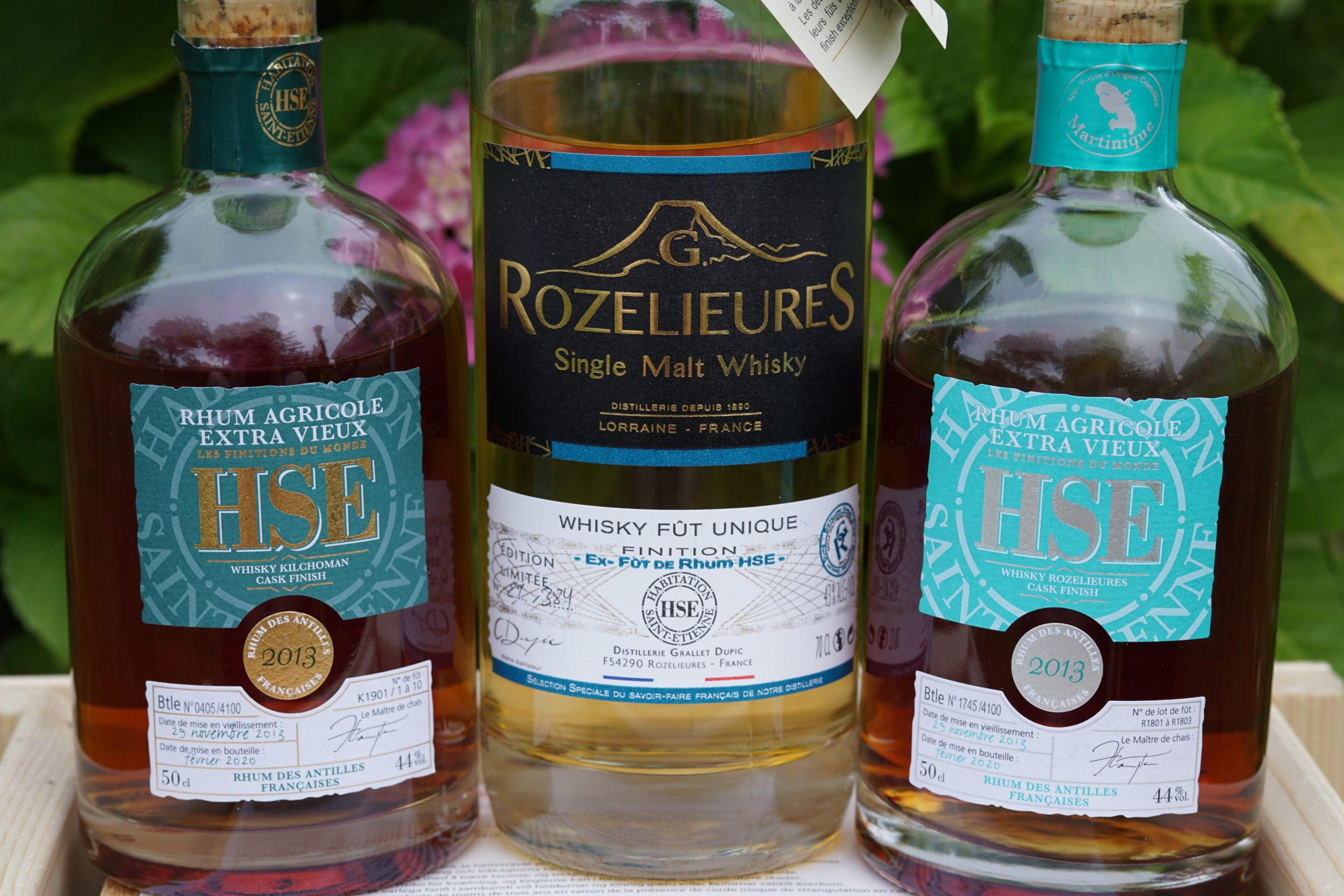 Quand HSE (re)rencontre le whisky.
