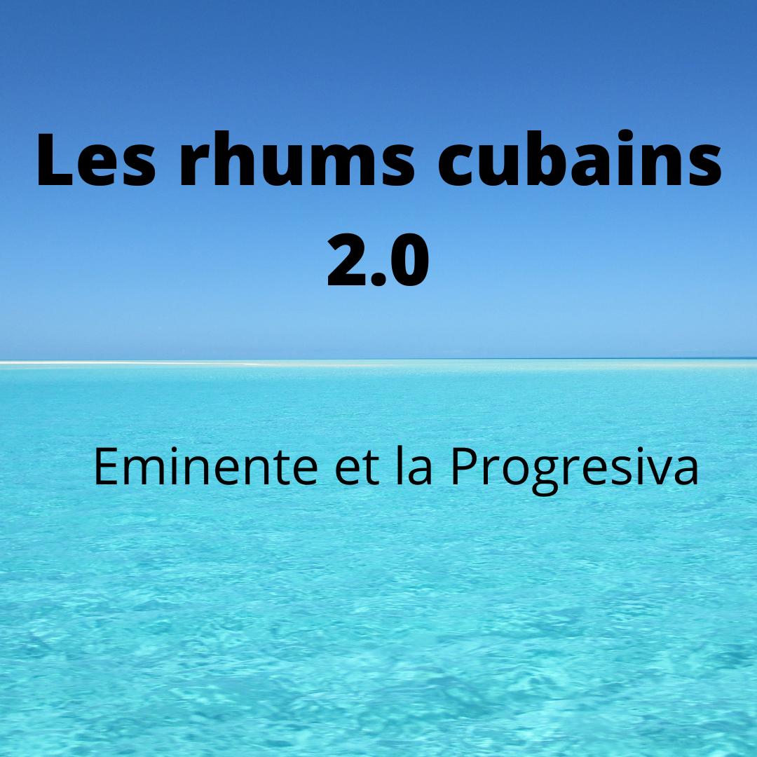Les rhums cubains 2.0 arrivent en France